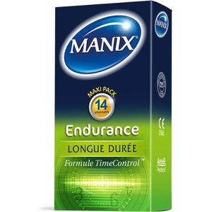 PRÉSERVATIF MANIX Boîte de 14 préservatifs Endurance