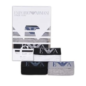 BOXER - SHORTY Emporio Armani Boxer 3 Pack Trunk Homme