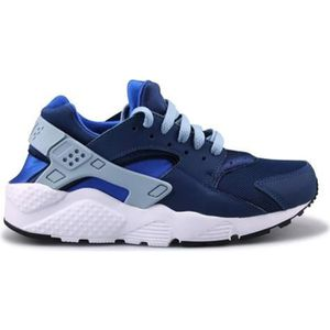 BASKET Basket Nike Huarache Run Junior Bleu 654275-406