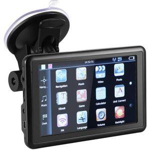 GPS AUTO GPS Voiture Navigation GPS 5 Pouces écran Tactile