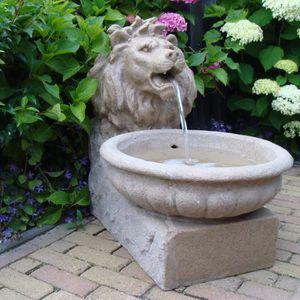 Fontaine Tête de Lion bassin Décoration Jardin - Achat / Vente ...