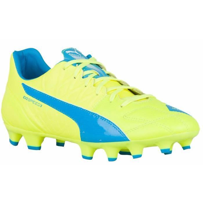 PUMA Chaussures de Football Evospeed 3.4 Lth FG Homme