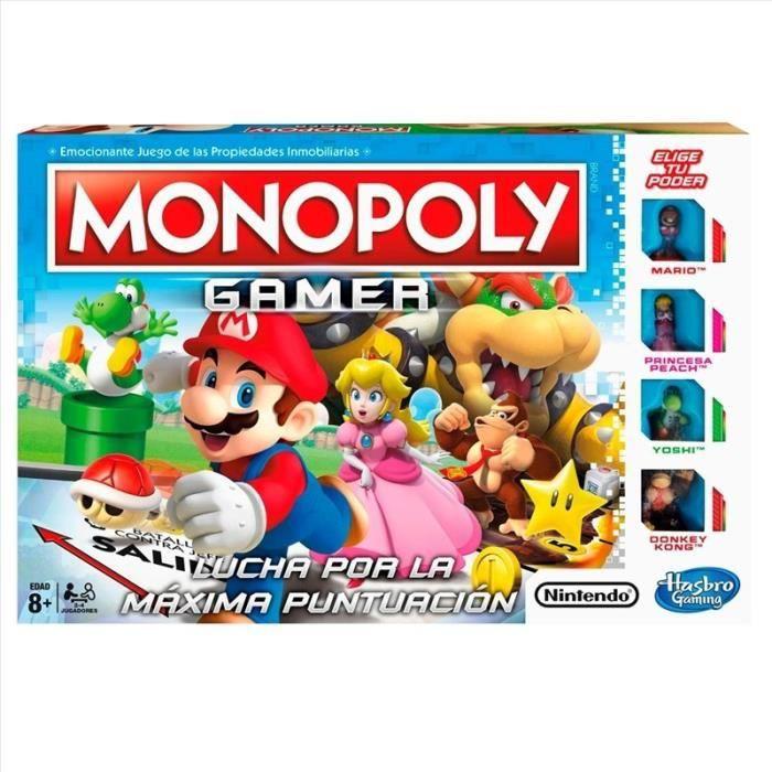 JEU SOCIÉTÉ - PLATEAU Gamer Monopoly - 125310