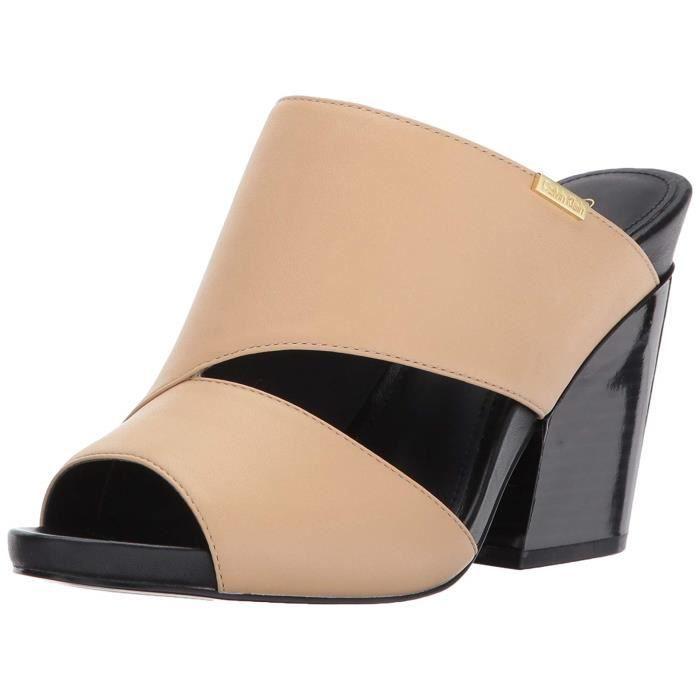 grande vente dernier nouvelle sélection Femmes Calvin Klein Sandales Compensées