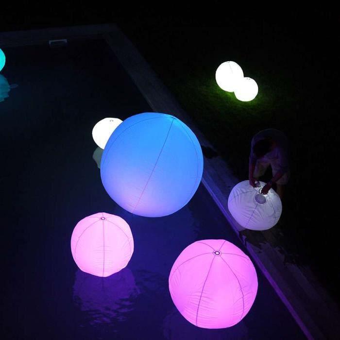 Boule lumineuse gonflable - D. 150 CM - Autonomie 20H - Achat ...