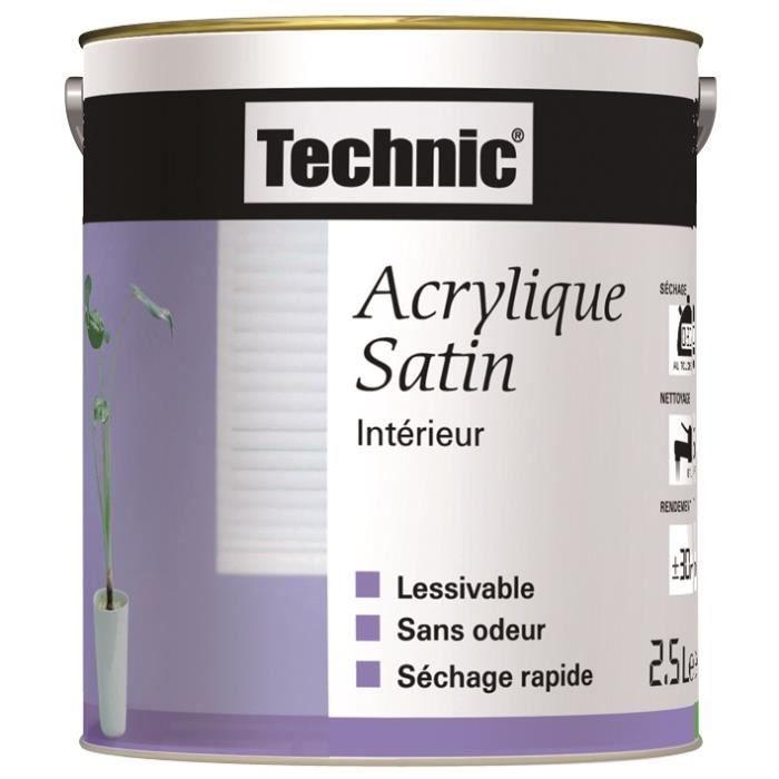 Peinture Acrylique Satin Blanc Cassé 25 L Achat Vente