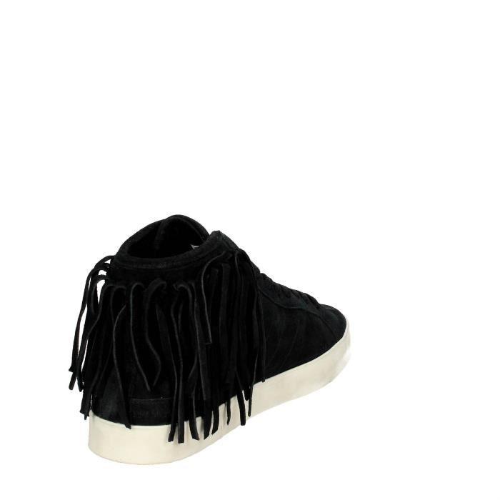 D.a.t.e. Haute Sneakers Femme Noir, 38