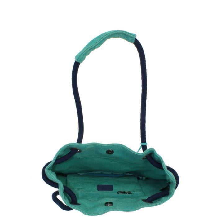 Sac sceau Lollipops ref_lol43043 Turquoise 35*31*19 Bleu
