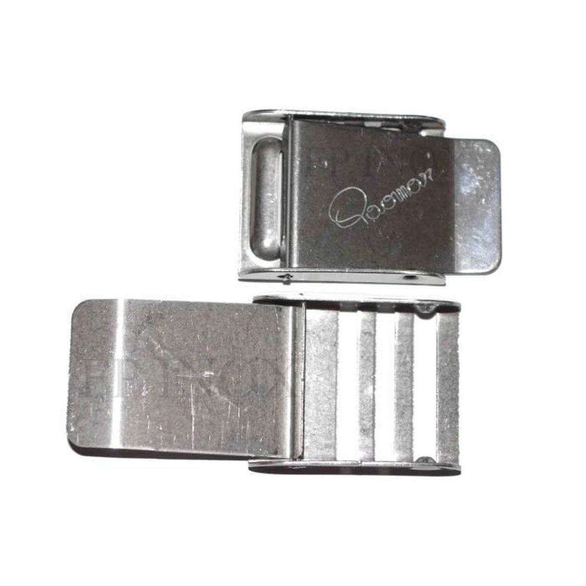 Boucle Réglable inox Pour Sangle 40mm - Achat   Vente sandow ... 02ab0c765b4