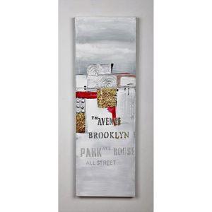 TABLEAU - TOILE Tableau déco Modern  19 -  Toile peinte à la main