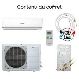 POMPE À CHALEUR Airton climatiseur réversible mono-split DC invert
