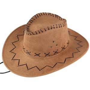 CASQUETTE CASQUETTE Unisexe adulte Ouest Cowboy Chapeau mong