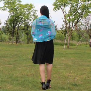 ECHARPE - FOULARD Mode Femmes Lady Long Doux Imprimé Floral Triangle ... c96b0c5fce3