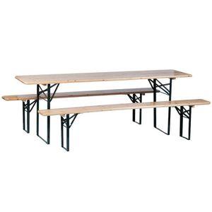 SALON DE JARDIN  Ensembles tables et chaises Table de pique-nique 8