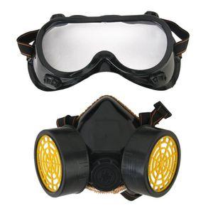 LUNETTE - VISIÈRE CHANTIER Masque de Protection Respirateur Anti-poussiere In