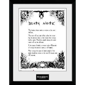 AFFICHE - POSTER Photographie encadrée Death Note Death Note 30 x 4