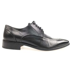 SHELOVEIT® Derby Chaussures Décontractée Cuir Hommes Rouge Rouge ... 7aadc9aff039