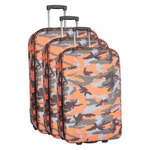 SET DE VALISES PARKWAY Set de 3 valises souples 2 Roues 48 - 58 -