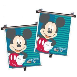 PARE-SOLEIL BÉBÉ DISNEY Lot de 2 Pare-soleil déroulables Mickey