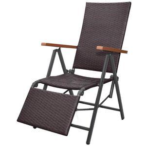 chaise pliante resine achat vente pas cher. Black Bedroom Furniture Sets. Home Design Ideas