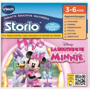 JEU CONSOLE ÉDUCATIVE La Boutique de Minnie - VTECH Jeu Storio