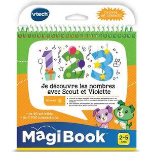 CONSOLE ÉDUCATIVE VTECH Magibook - Je Découvre Les Nombres Avec Scou