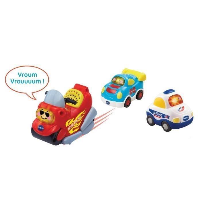 TUT TUT BOLIDES Coffret Trio Police