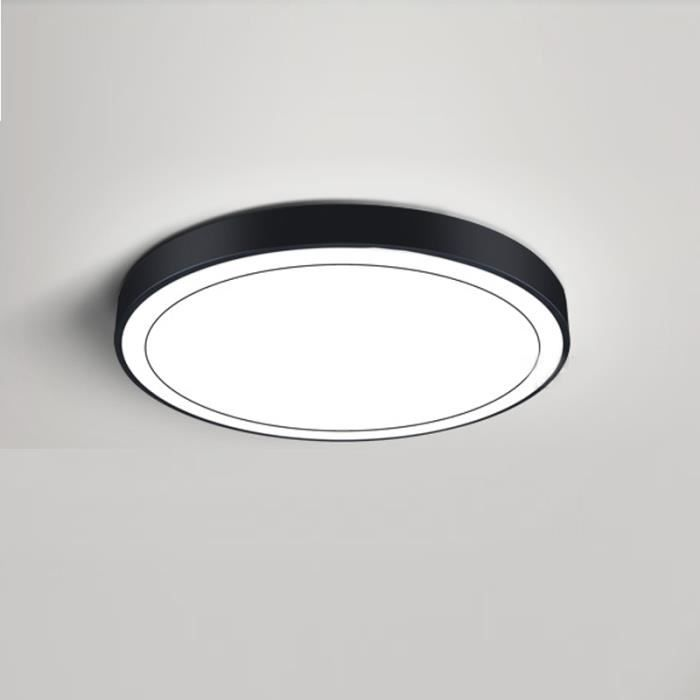 47cm noir plafonnier led rond lampe de plafond de 5 Merveilleux Plafonnier Led Rond Pkt6