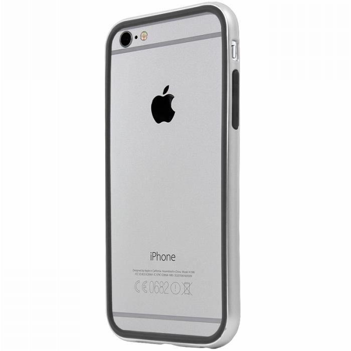 coque iphone 6 contour argent