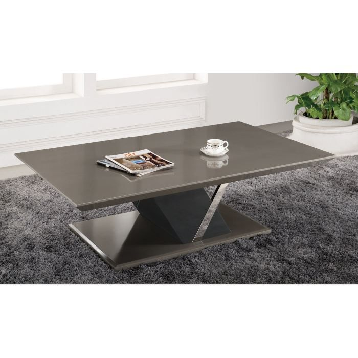 Tables Basses Design Alya Taupe Achat Vente Table Basse Tables