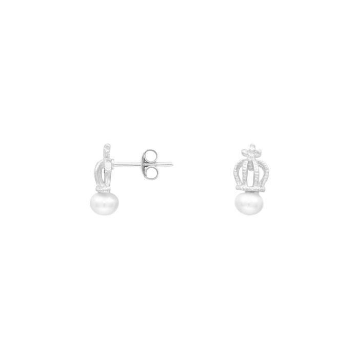 Boucles oreilles CLEOR Argent 925-1000 Perle