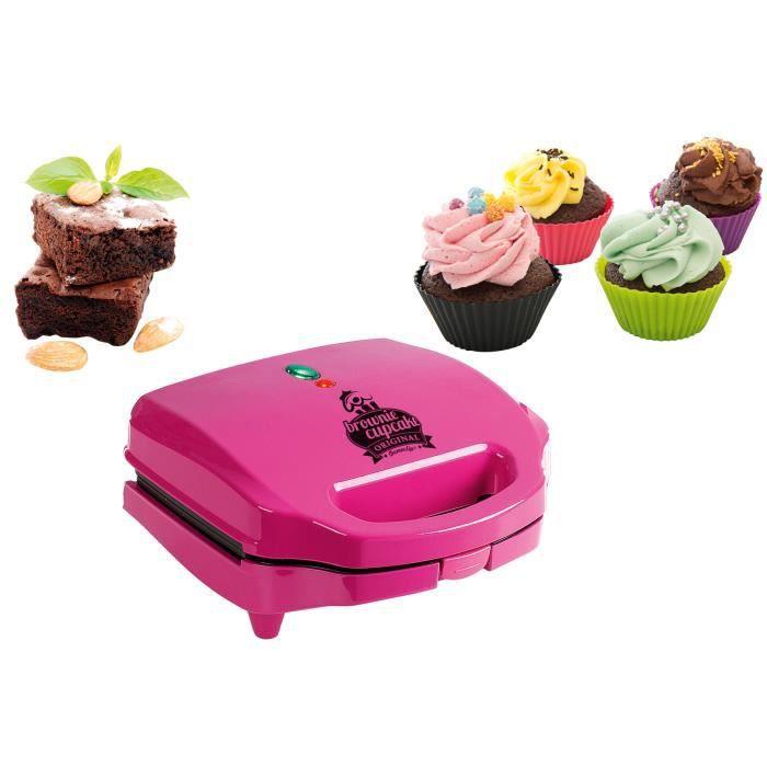 PIÈCE POUR FAIT-MAISON  DOMOCLIP DOP130 Machine à cupcakes - Rose