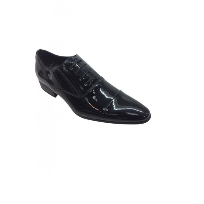 Brillant Homme De Cérémonie Vente Noir Chaussure Pour Achat lJcFKT13
