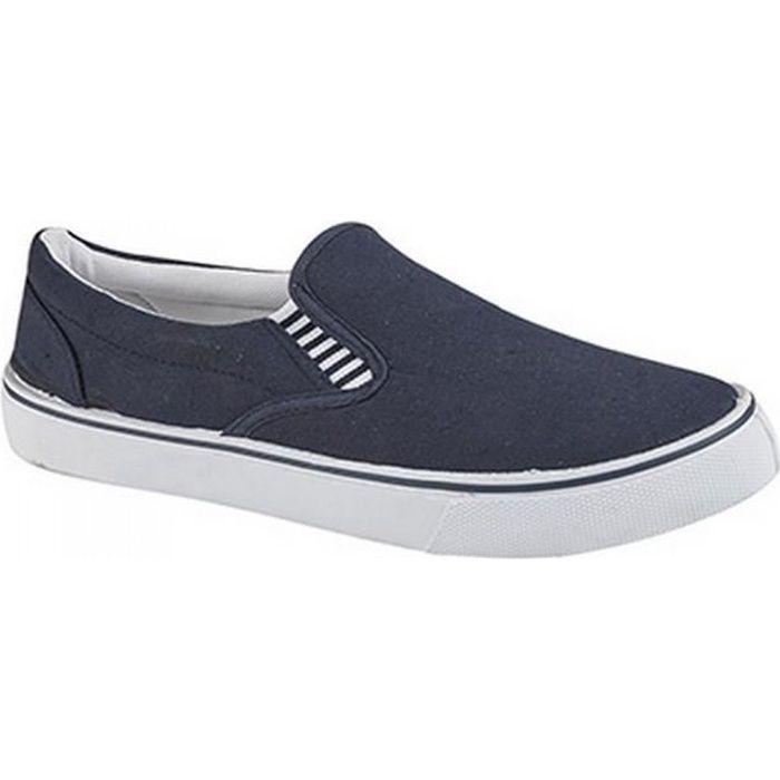 BASKET Dek , Chaussures d\u0027été en toile , Homme
