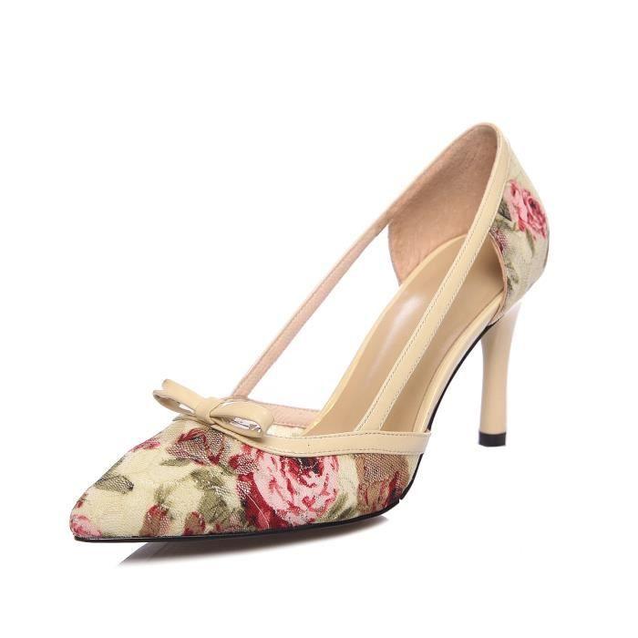 Nouveau Sandales à talons Femme Chaussure-talon fermé.
