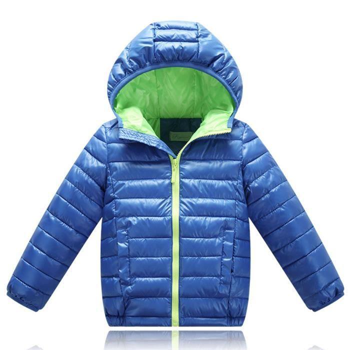 d3fc035bac08b Garçons Manteau d'hiver en duvet de canard Manteau Enfants Feather ...