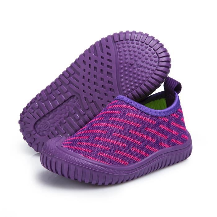 Unisex Toddler and children Slip-On Casual Walking Shoes Breathable Lightweight Flying Woven Sneakers