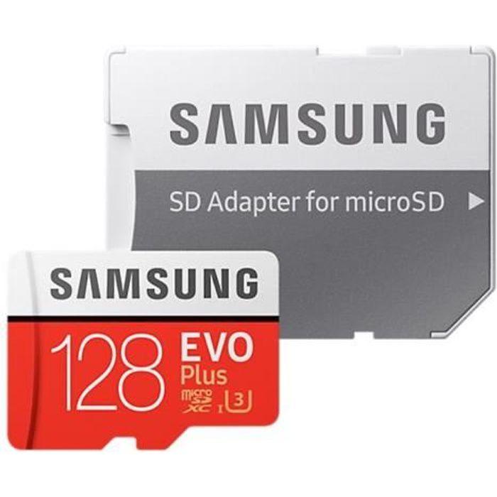 CARTE MÉMOIRE Samsung EVO Plus MB-MC128G - Carte mémoire flash (