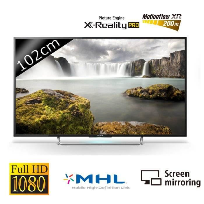 Téléviseur LED SONY KDL40W705 Smart TV LED Full HD 200Hz 102cm