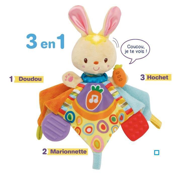 PELUCHE VTECH BABY - Mon doudou à comptines