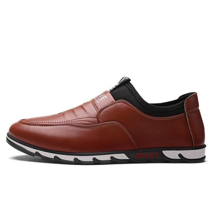 Chaussure De Ville Homme Souplesse D'Affaires Lacets Caoutchouc Anti-DéRapant marron 39 X10909_JAFFUPUP_2013 gz2DsuNd