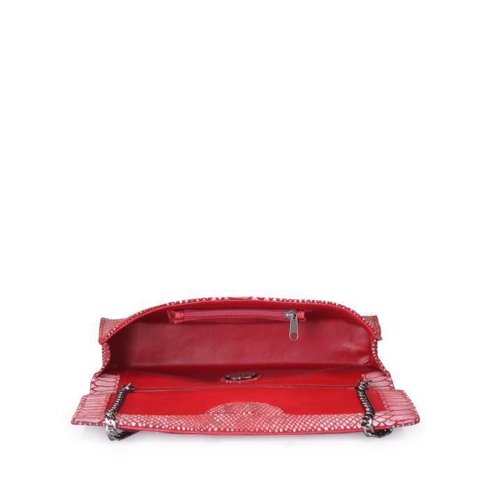 Sac Fourre-tout (serpent rouge Imprimer) (jg - sl - de cl197) OUF3C
