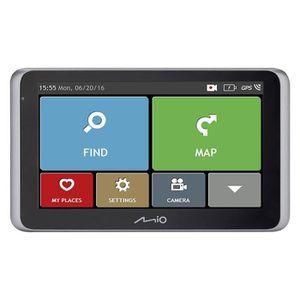 MOI MiVue Drive 55 LM GPS voiture - Caméra embarquée extr?me Full HD 140° - Aide ? la conduite - GPS Intégré - Bluetooth & TMC