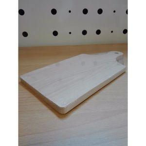 PLANCHE A DÉCOUPER Planche à découper avec manche- en bois naturel -
