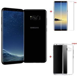 SMARTPHONE RECOND. Samsung Galaxy S8+ 64GO Noir version Européen remi