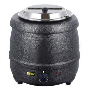 MIJOTEUR ÉLECTRIQUE Marmite à soupe Buffalo (gris graphite) 10 Litres