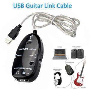 PACK ACCESSOIRES USB Guitar Link Cable pour PC / MAC adaptateur aud