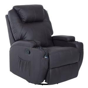 FAUTEUIL Fauteuil luxe de relaxation et massage électrique