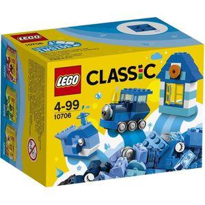 ASSEMBLAGE CONSTRUCTION LEGO® Classic 10706 Boîte de Construction bleue