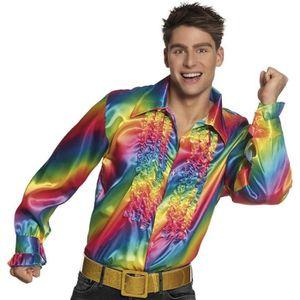 DÉGUISEMENT - PANOPLIE Déguisement Chemise Rainbow Homme- Taille XL